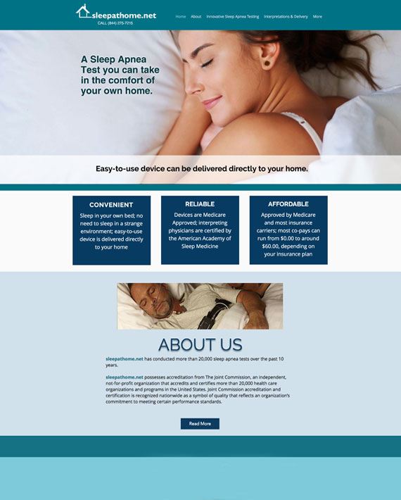 sleepathome-website